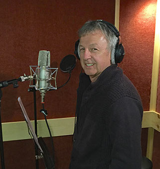 Bobby G in the Vocal Booth